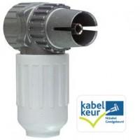 Hirschmann Kokwi3 Female IEC Coax Plug
